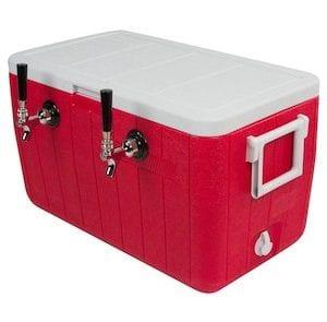 Beer draft box or jockey box