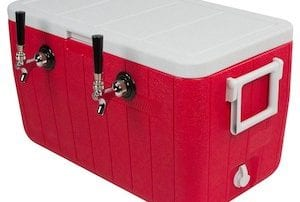 Beer draft box or jockey box