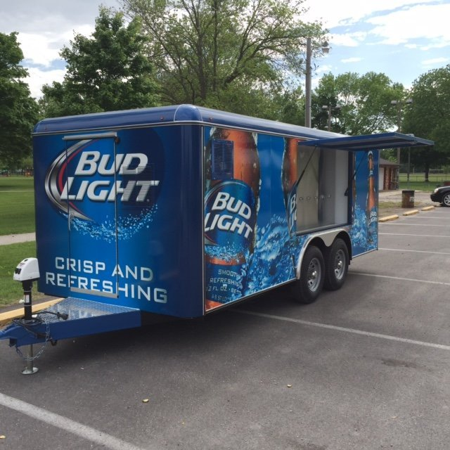 Draft Beer Trailer